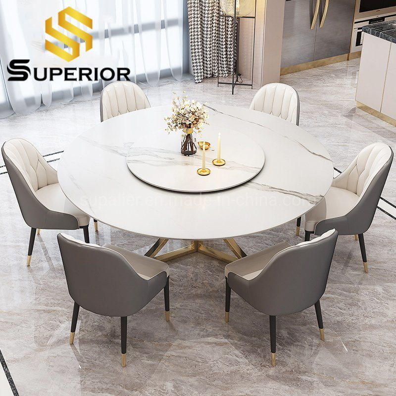 China Wholesale White Slate Stone Dining Tables Used Home Restaurant China Dining Room Table Dinner Table