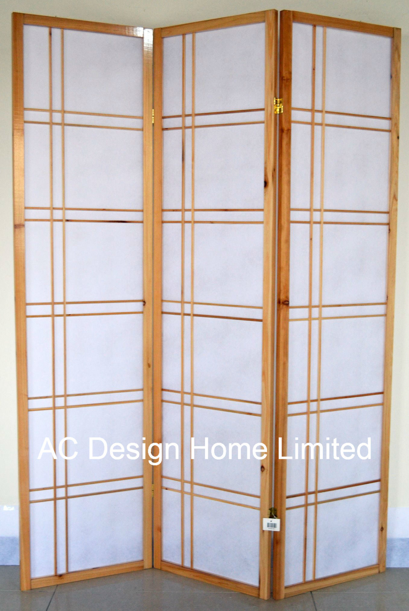 China Natural Color Cheap Rice Paper Non Woven And Wooden Japanese Style  Folding Shoji Screen Room Divider X 3 Panel   China Portable Room Divider,  ...