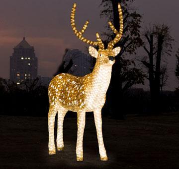 Christmas Motif Light Led Reindeer Outdoor