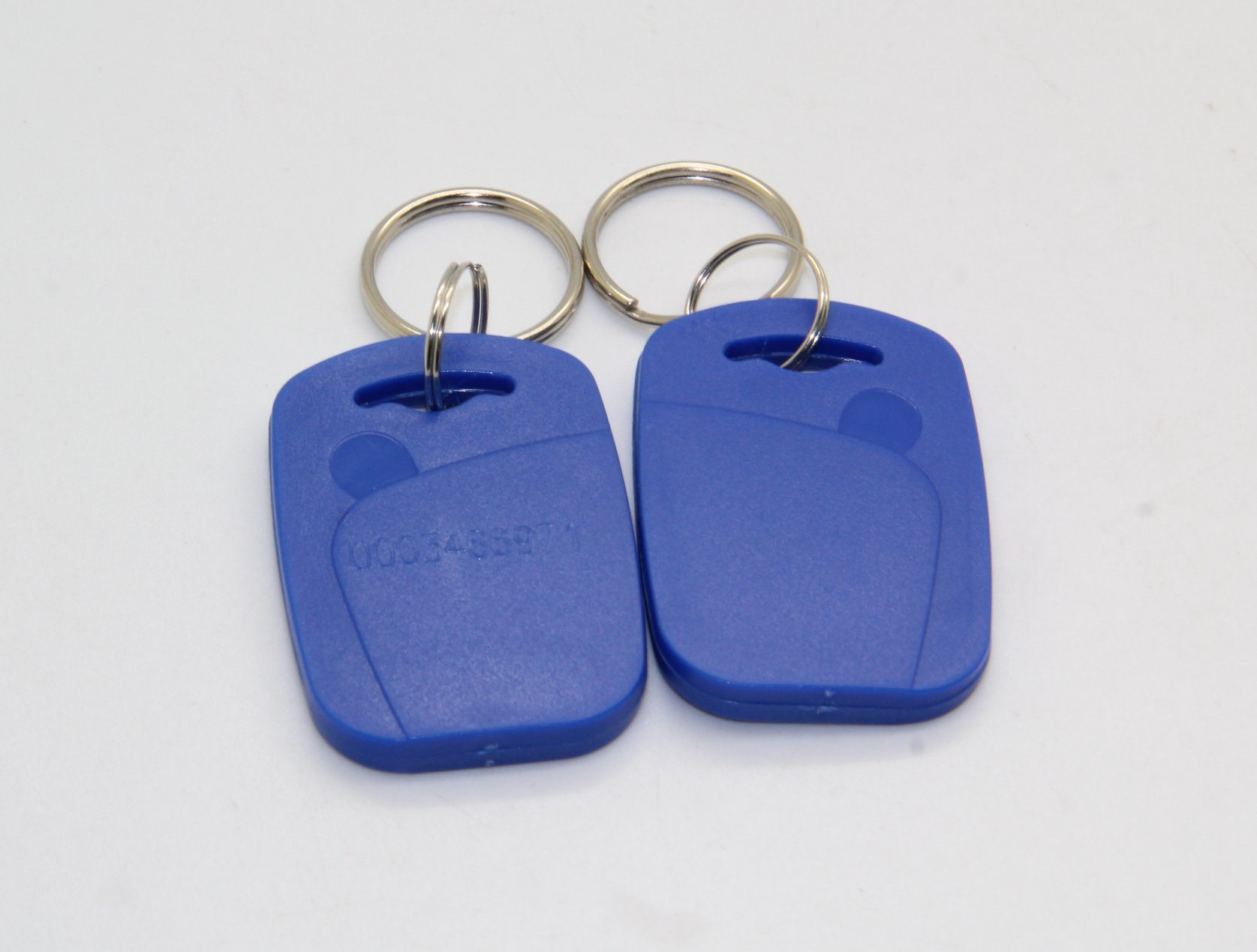 ABS Passive RFID Keyfob/Keychain/RFID Tag/NFC Tag in Access Control System pictures & photos