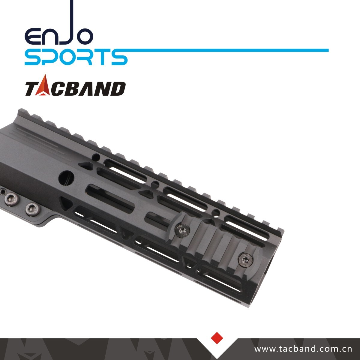 [Hot Item] 5 Slots Ar-15 M16 M4 Tactical Mil-Spec M-Lok Picatinny Rifle  Scope Handguard Rail Mount