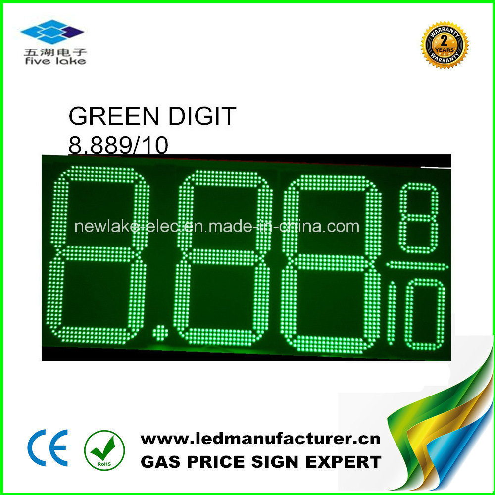 15 Inch Gas Price LED Electronic Sign Boards pictures & photos