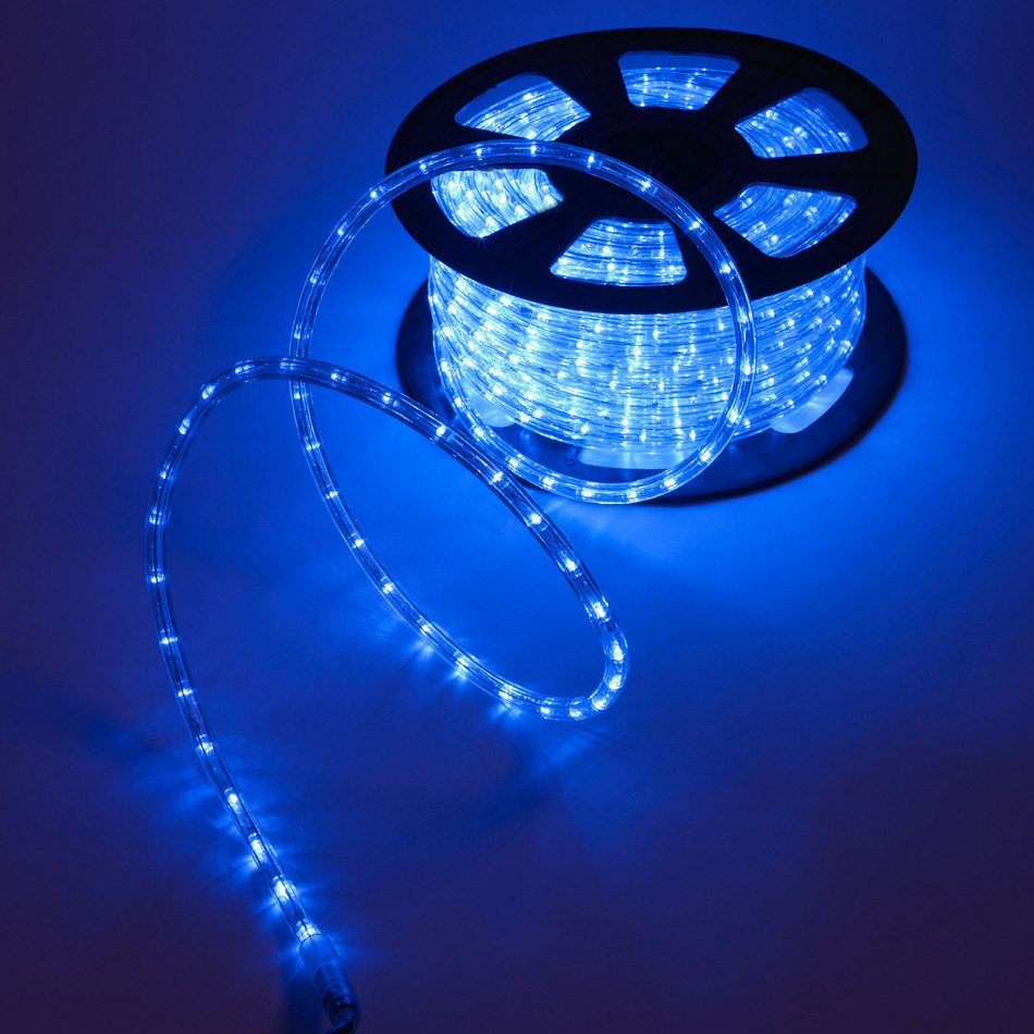 2wire Blue Decoration Led Rope Lights