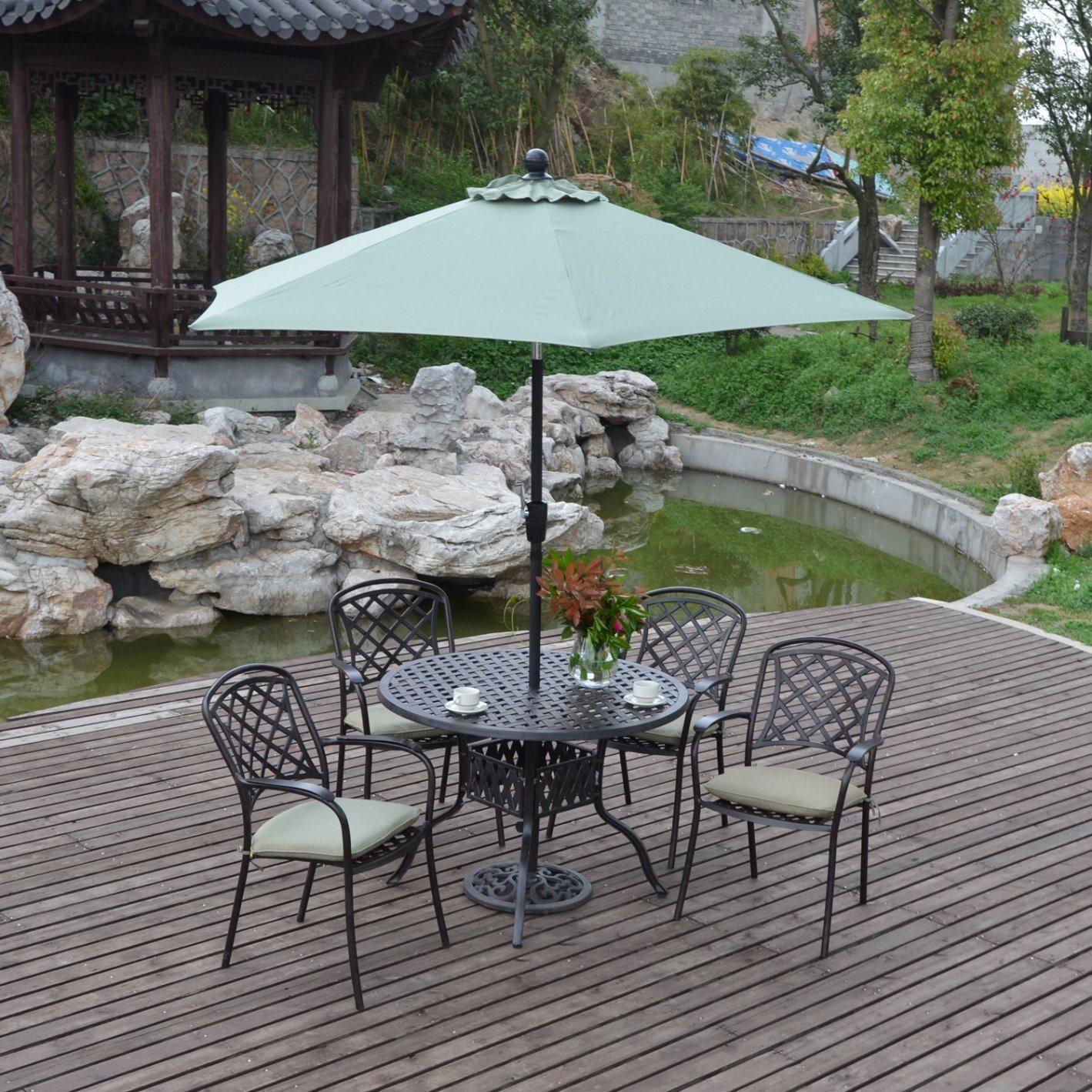 Cast Aluminum Outdoor Garden Furniture
