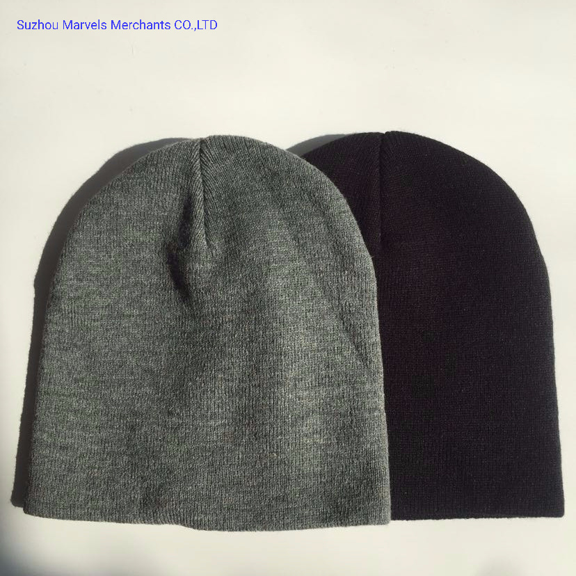 Popular Winter Fashion Adult Knitted Acrylic Beanie pictures & photos