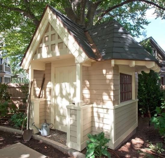 China Prefabricated Wooden House, Modern Garden Sheds