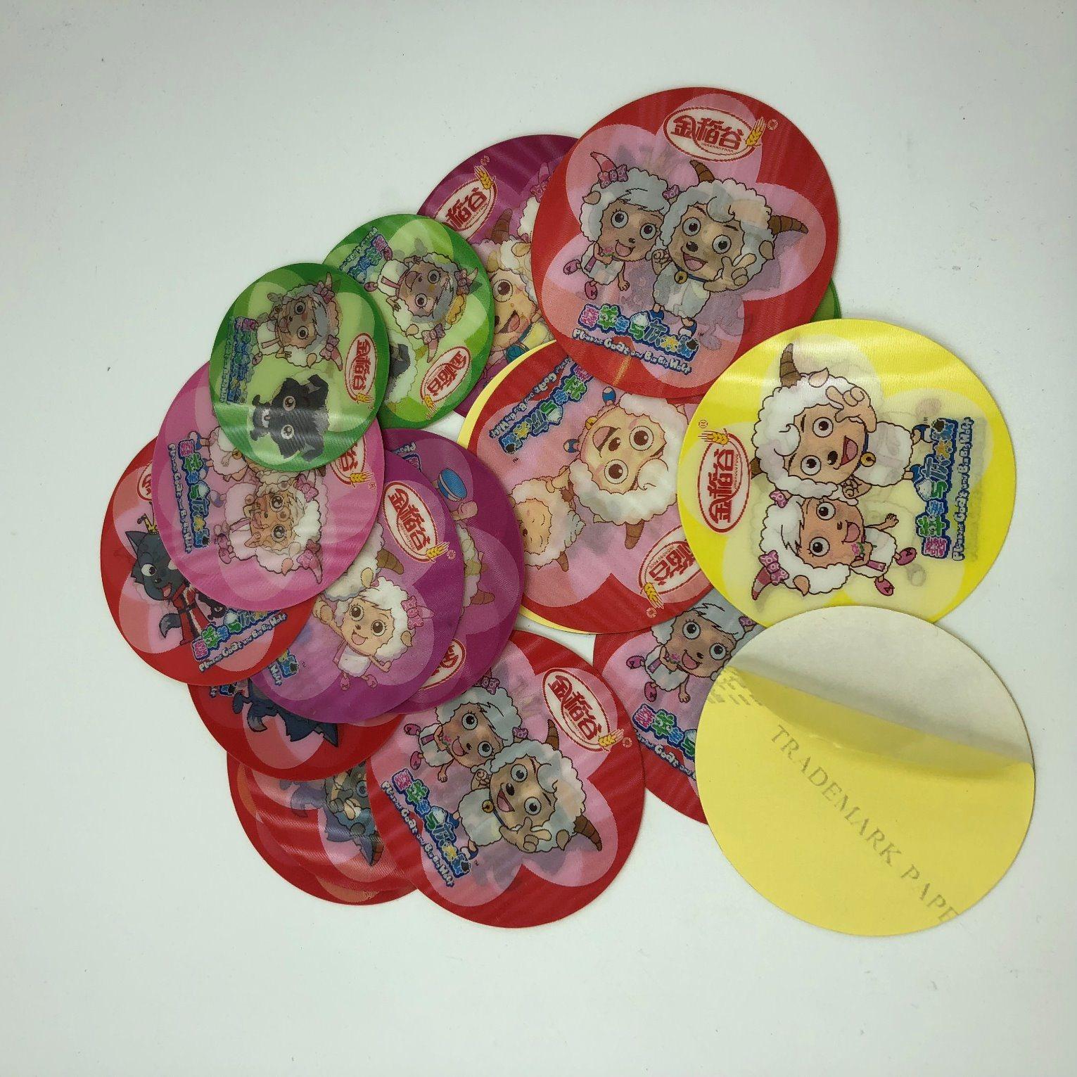 Hot item 3d lenticular sticker