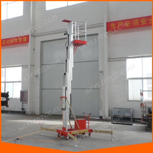 10m Single Mast Personale Aluminum Manlift with Ce pictures & photos