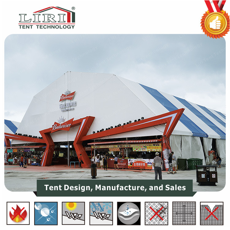 40 X 50 Frame Large Polygonal Top Exhibition Tent with Cooling System for Sale  sc 1 st  Liri Tent Technology (Zhuhai) Co. Ltd. & China 40 X 50 Frame Large Polygonal Top Exhibition Tent with Cooling ...
