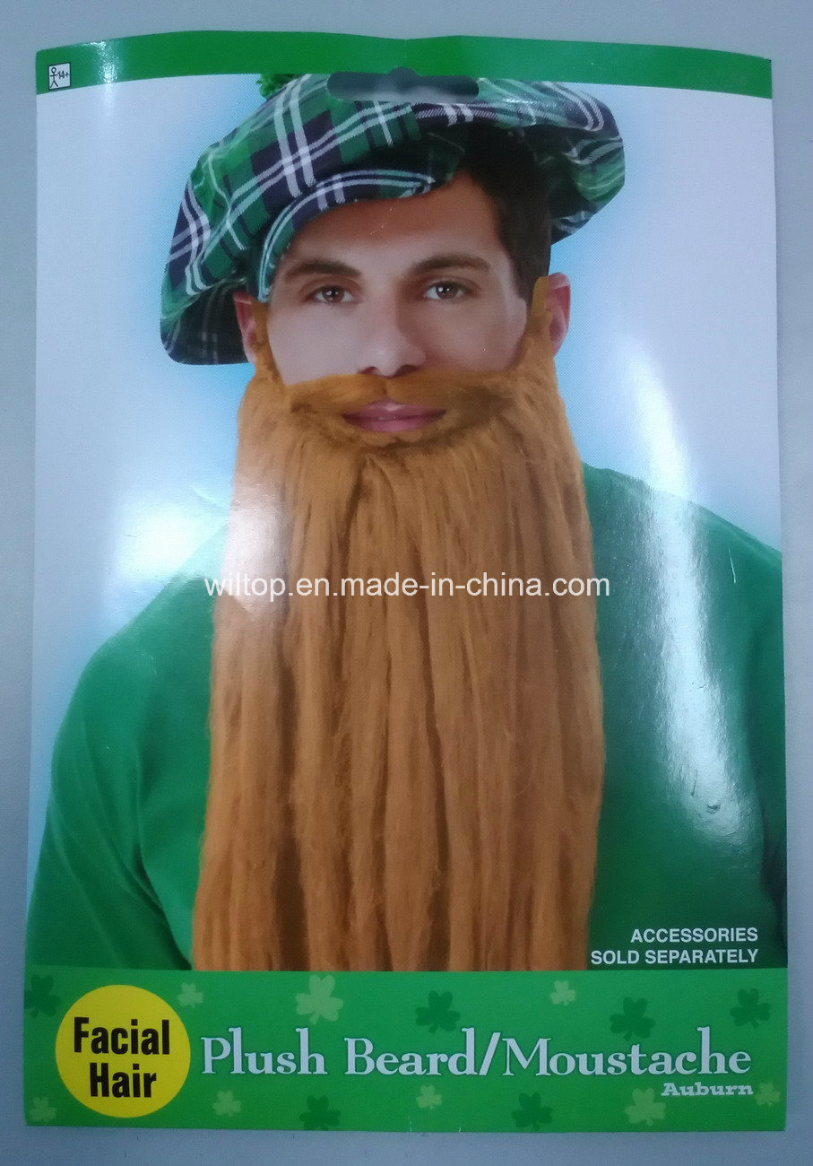 Plush St Patrick′s Day Beard&Moustache (BA006)
