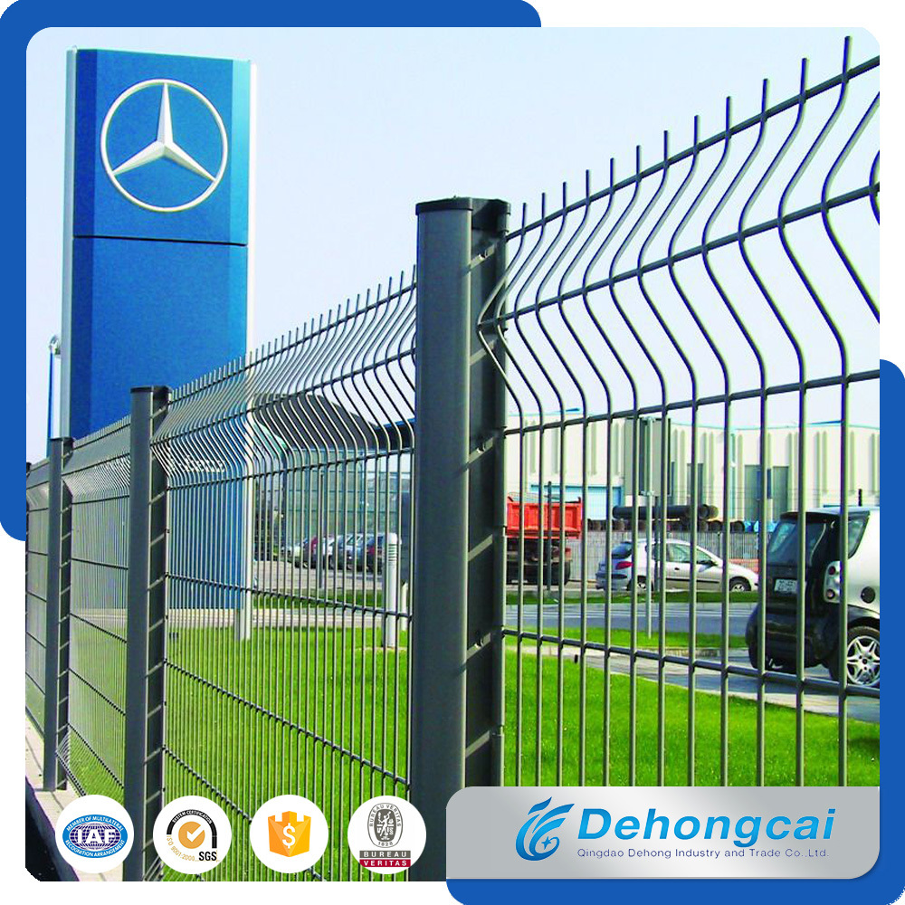 China Powder Coated Welded Wire Mesh Fence Panel for Factory ...