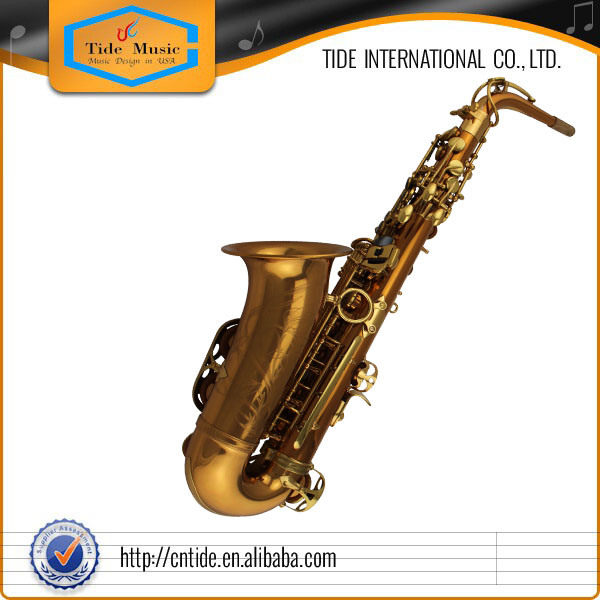 Professional Rose Brass Alto Saxophone Suitable for Jazz