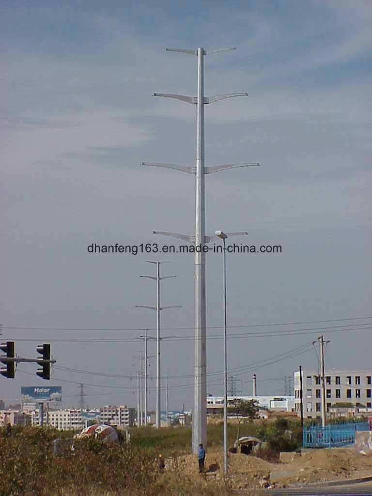 High Mast Pole for Power Transmission