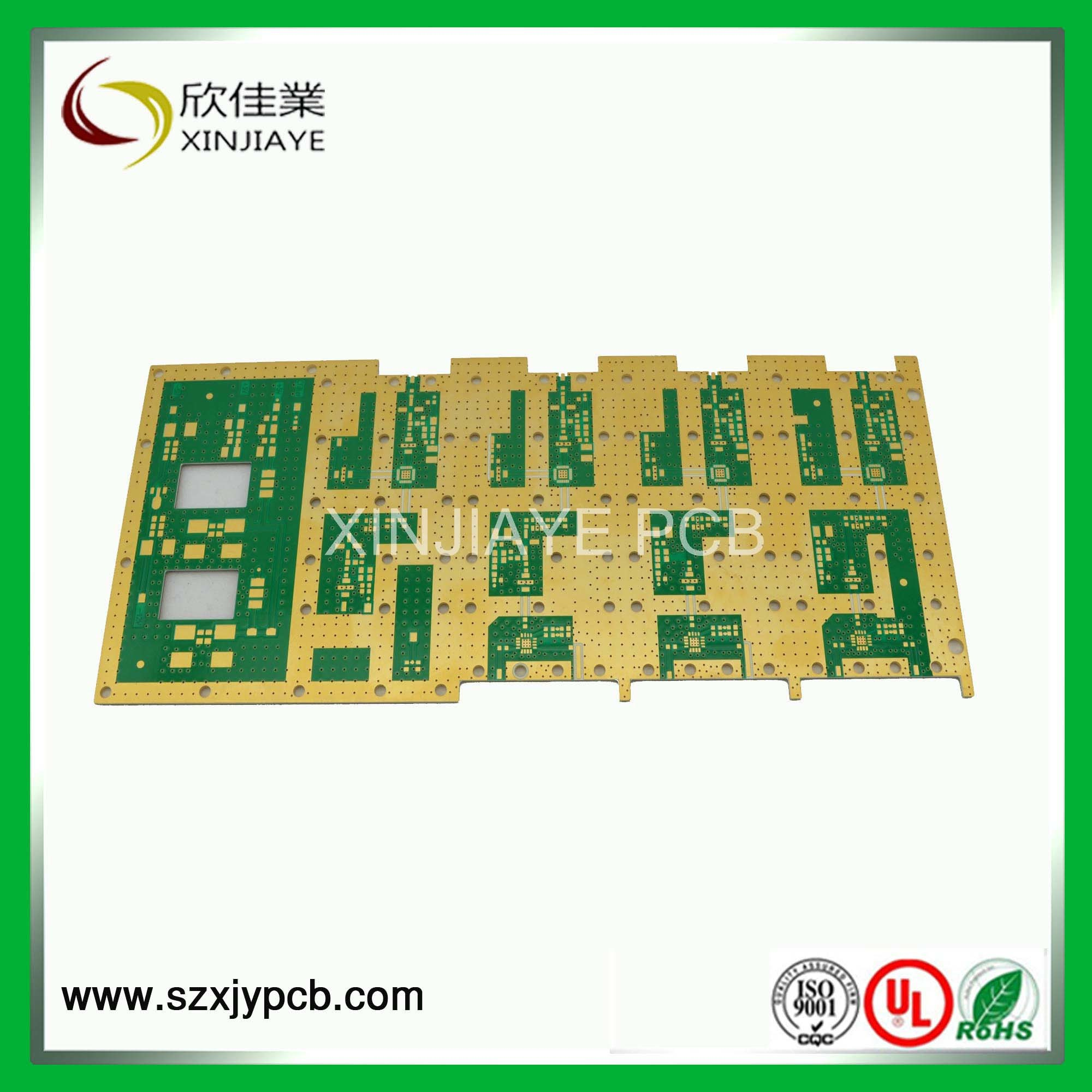 China Specialized Immesion Gold Pcb And Pcba Multilayer Manufacturer Ul Rohs Ourpcb Circuit Board
