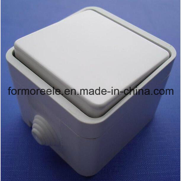 One Way Waterproof Wall Switch for European Market