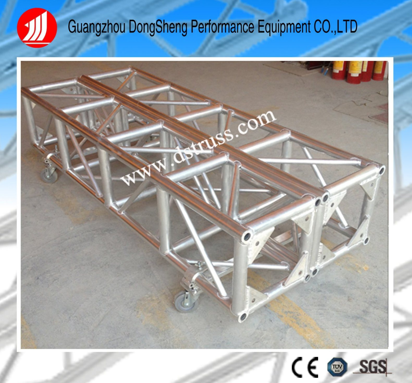 triangular truss beam square pin i lighting products stage
