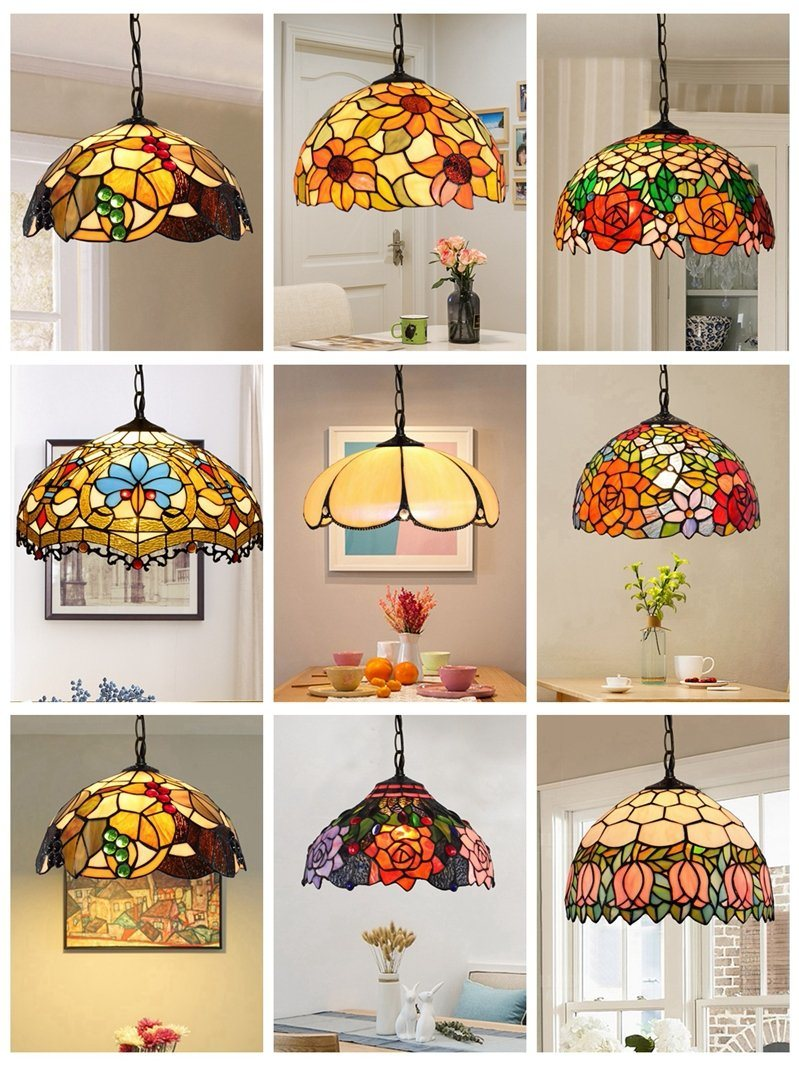 China Tiffany Pendant Lamp Stained Glass Pendant Lamp Photos Pictures Made In China Com