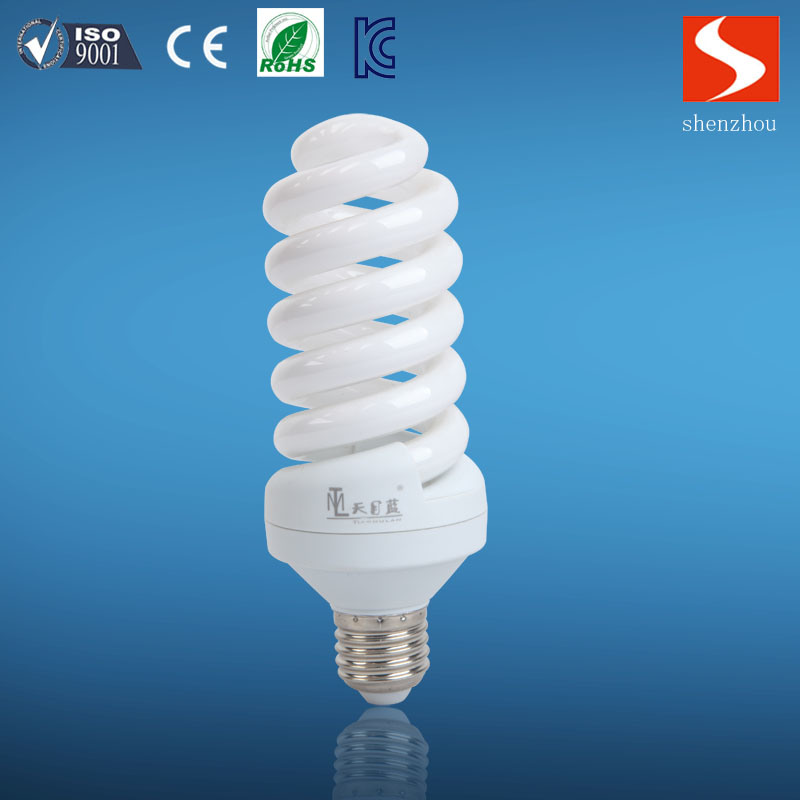 12mm Full Spiral 65W Compact Fluorescent Lamp pictures & photos