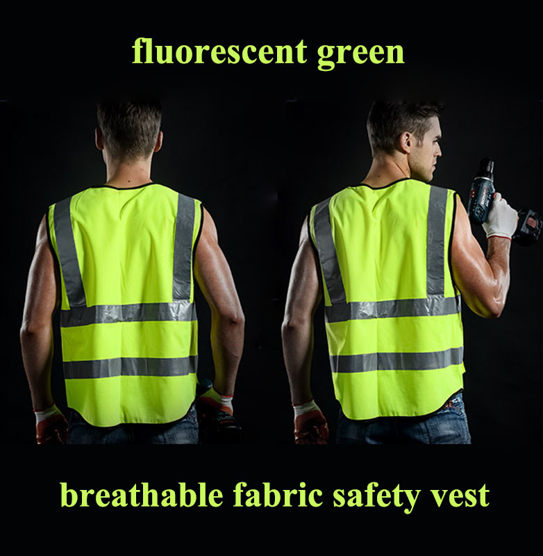 Custom Safety Vest High Visibility Safety Wear Safety Uniform Workwear