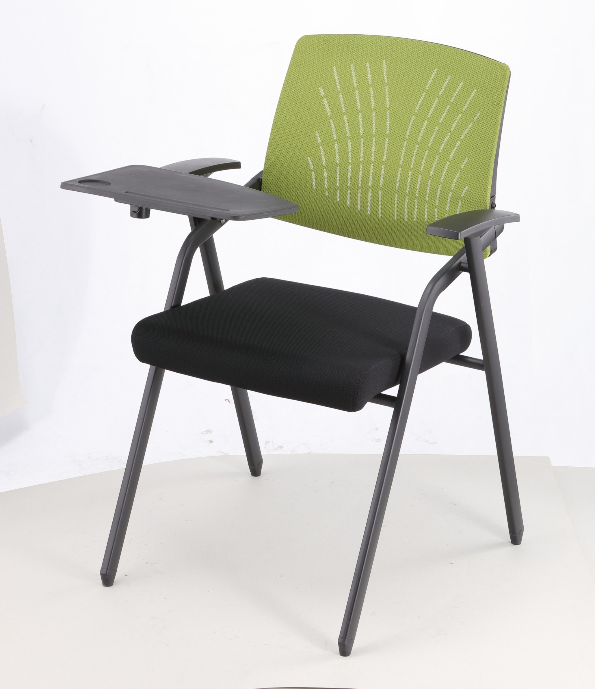 Hot Item Folding Meeting Training Chairs With Writing Tablet D822