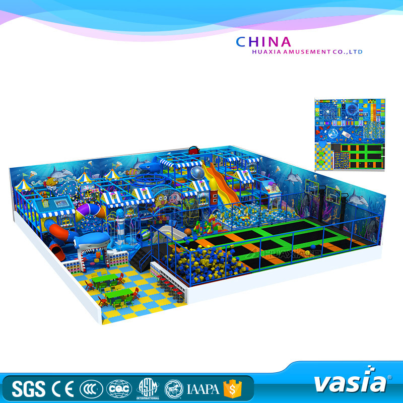 2016 Trampoline Park Indoor Playground Design for Children and Kids pictures & photos