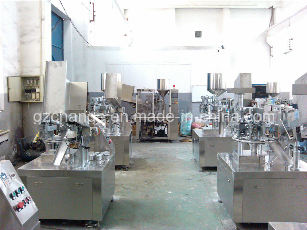 Semi Auto Tube Fill and Seal Machine for Various Paste Cream Ointment pictures & photos