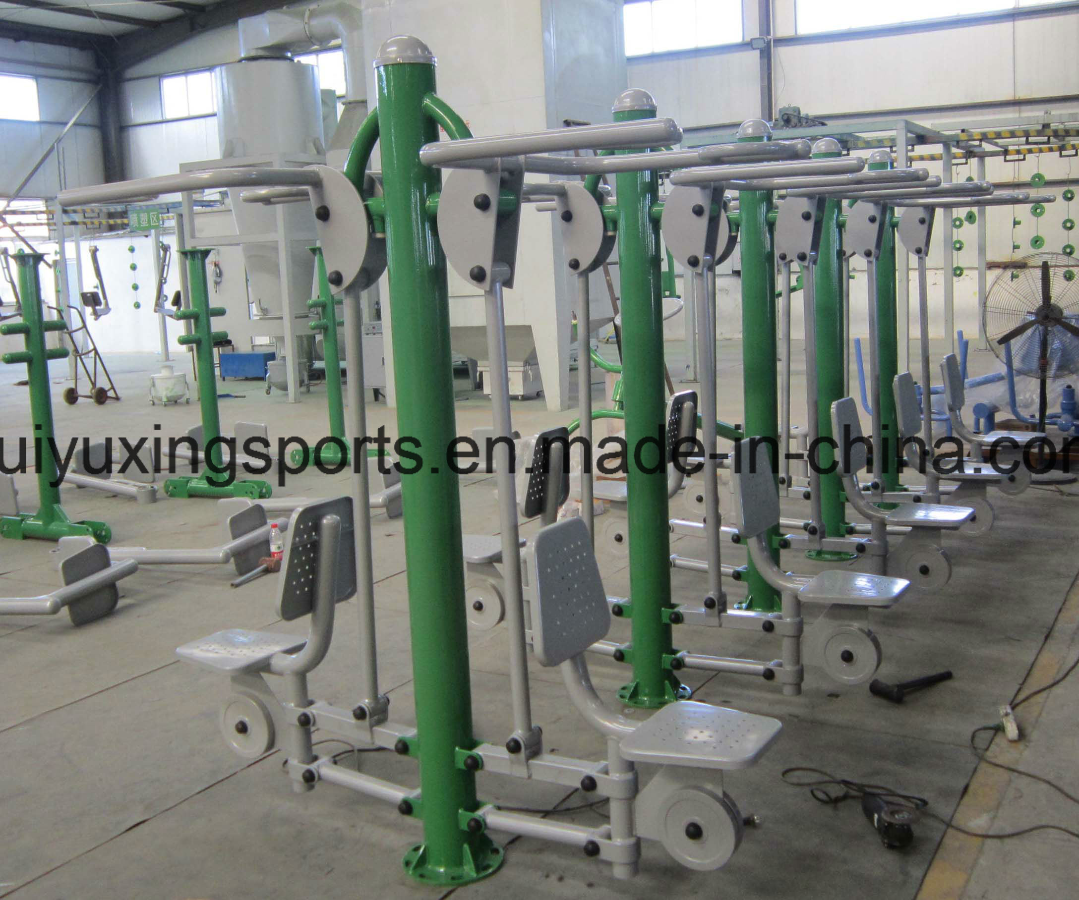 Outdoor Body Building Equipment with The Double Rider pictures & photos