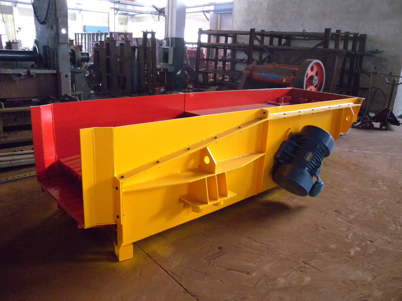 Vibrating Grizzly Feeder for Stone Crushing Plant pictures & photos