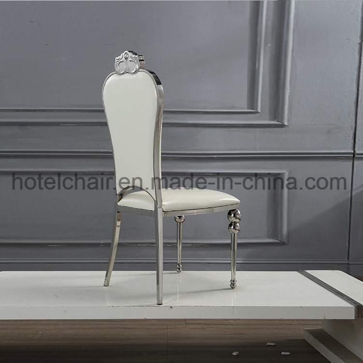 Hot Modern Design Hotel Metal Furniture Banquet Chair with PU Cushion pictures & photos