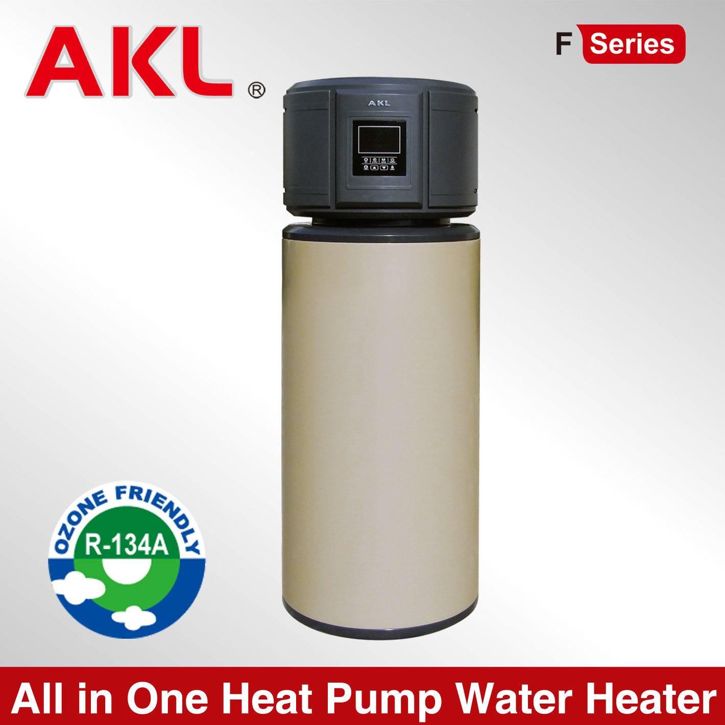 2015 New Solar All in One Air Source Heat Pump Water Heater pictures & photos