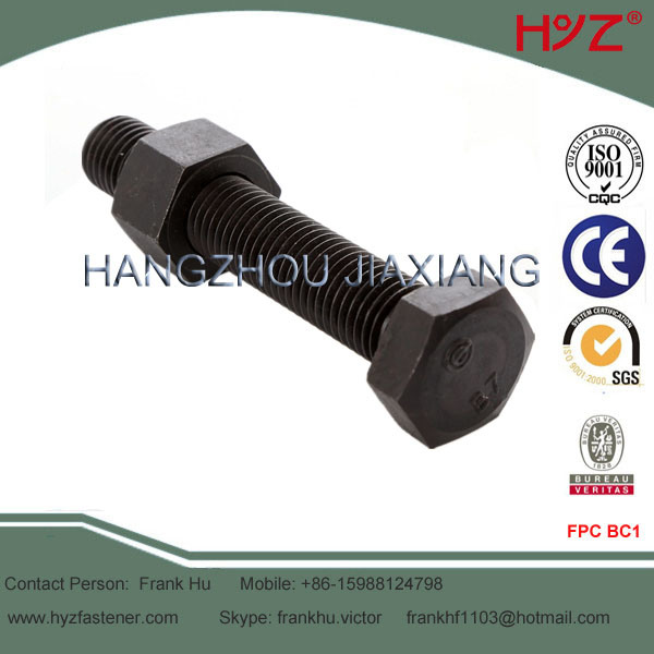 Full Thread B7 Steel Hex Head Bolt