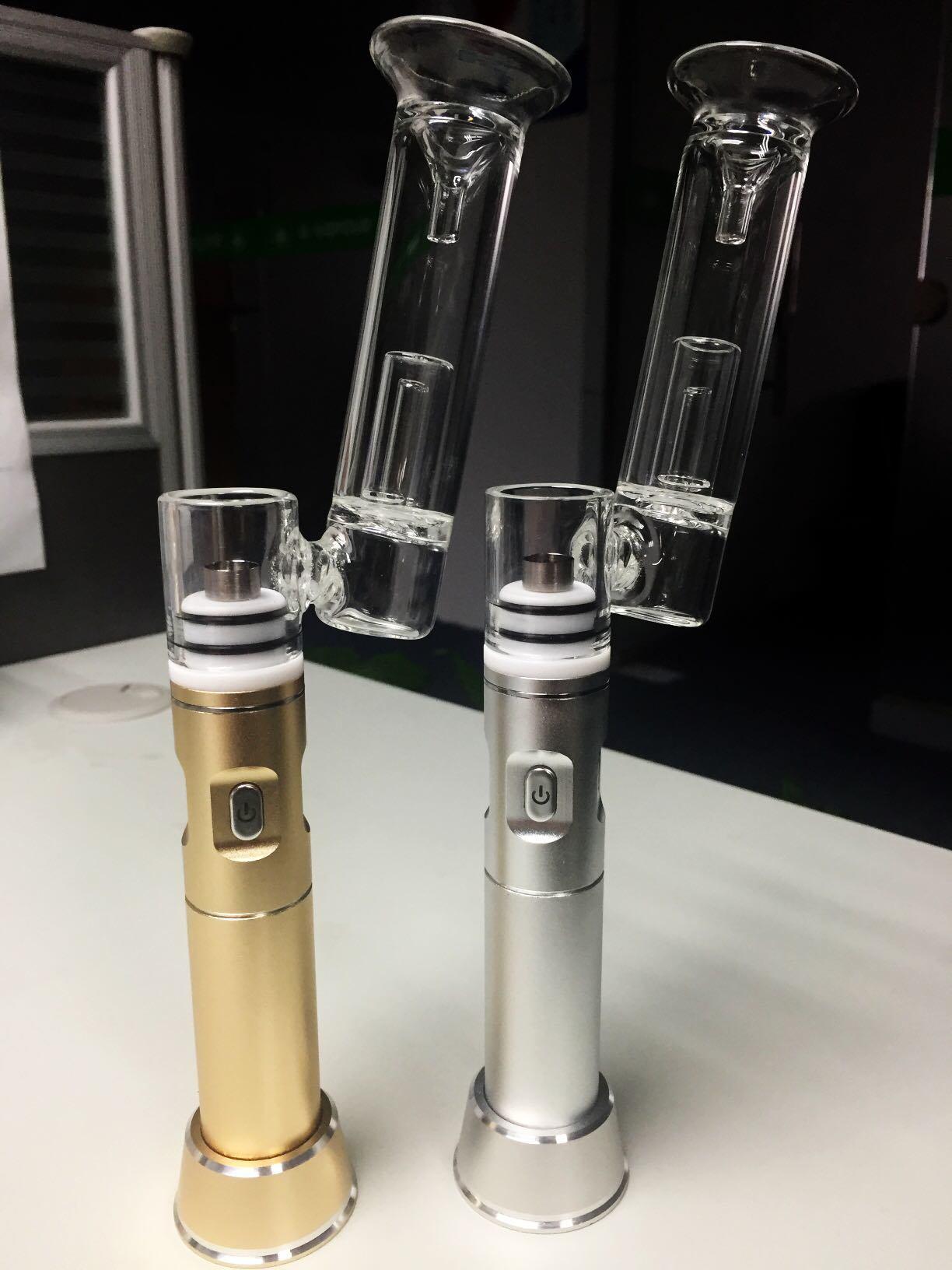 [Hot Item] Portable Dabbing Enail DAB Pen H-Enail G9 Henail Herb Oil Rigs  Glass Smoking Pipe Vaporizer