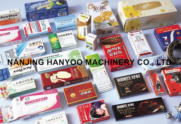 Dzh-100 Automatic Bottle Cartoning Box Machine