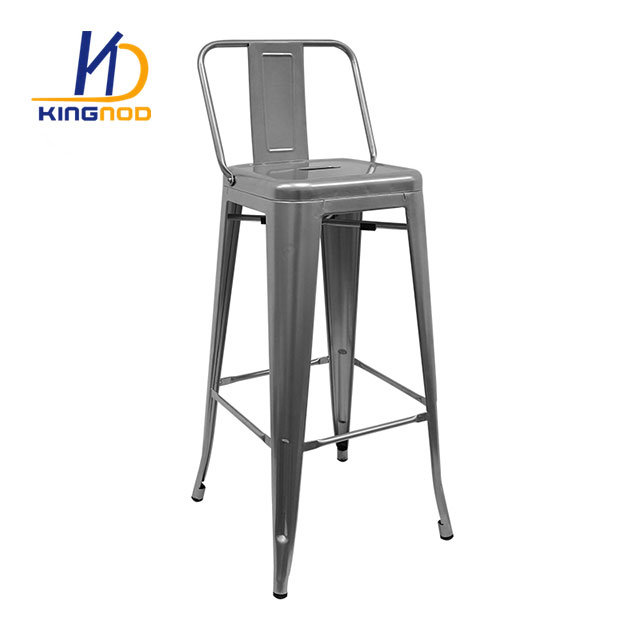 Hot Item Replica Tolix Bar Stool Low Back High Chair 75cm