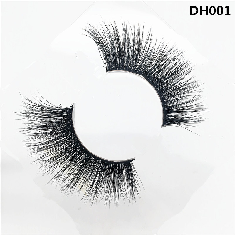 China 3d Mink Big Eyelashes With Length 20 25mm For Customized