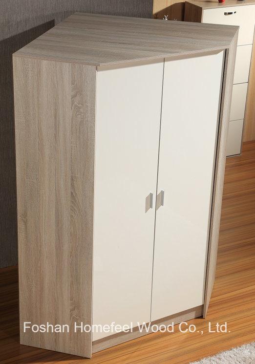 wooden high gloss corner wardrobe closet - Corner Wardrobe Closet