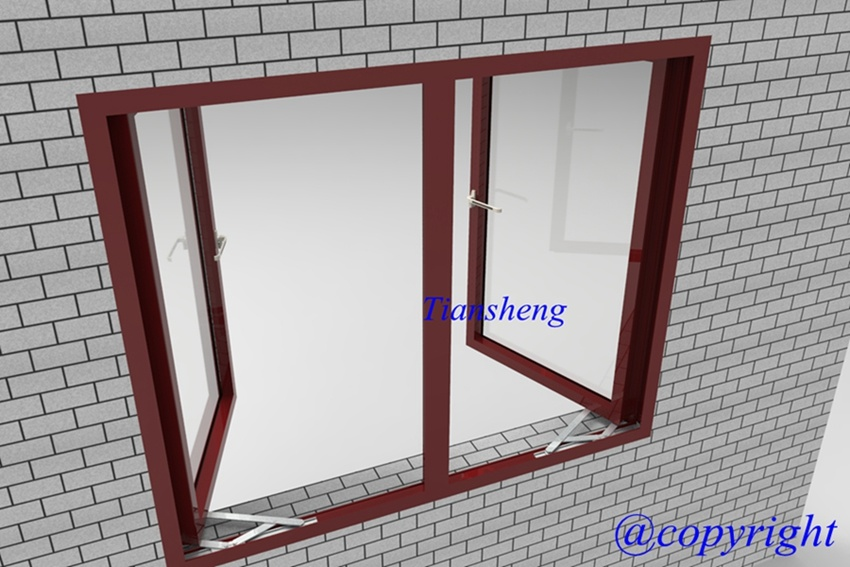 503series Aluminum Casement Window for Commercial and Residential Building pictures & photos