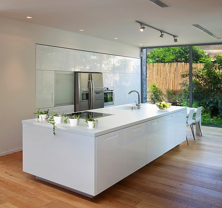 China Modern Aluminium Kitchen Cabinets Fiited Kitchen