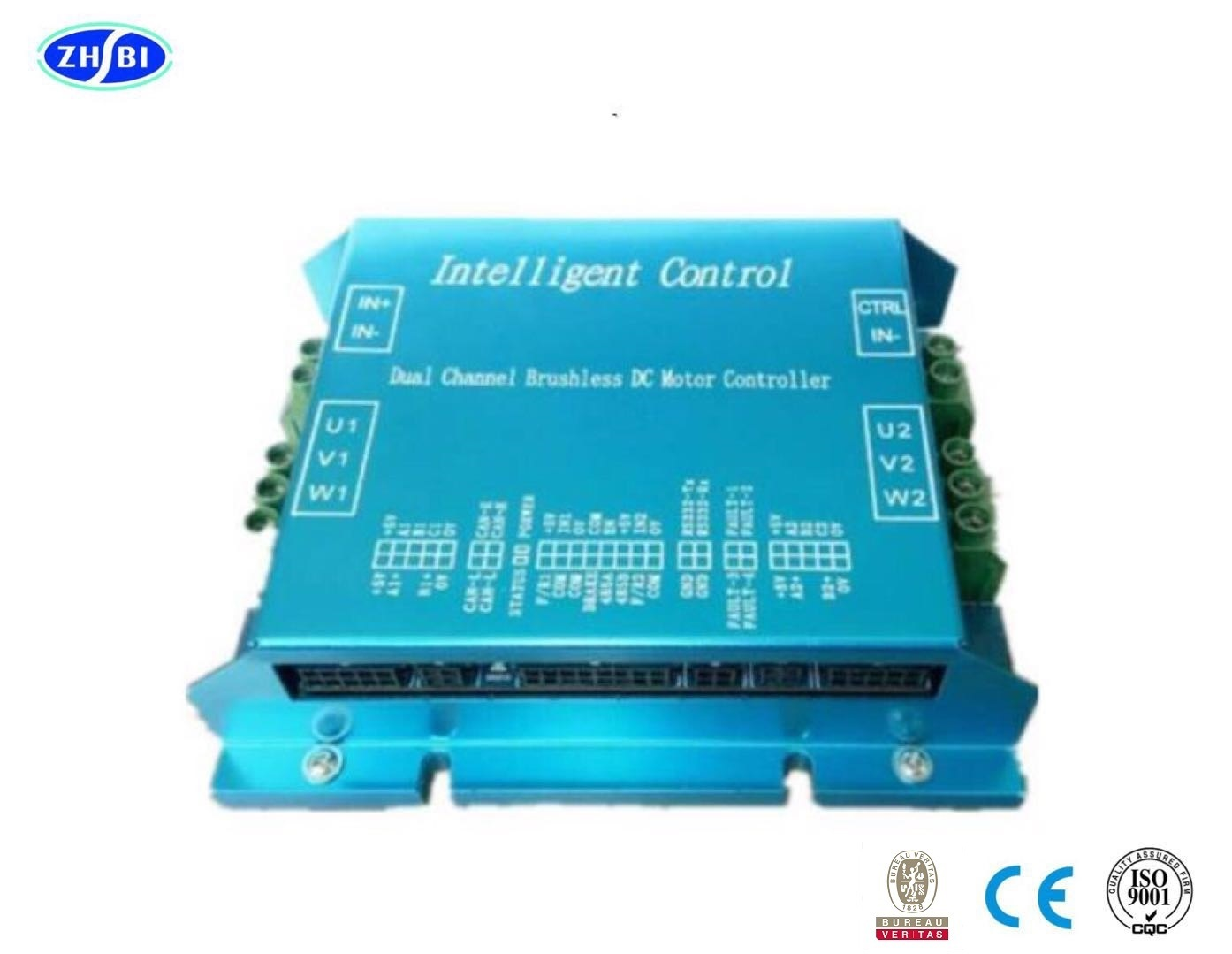 China 48v 600w Mix Mode Dual Channel Bldc Controller For Agv Rgv Ugv Motor Electric Brushless Dc