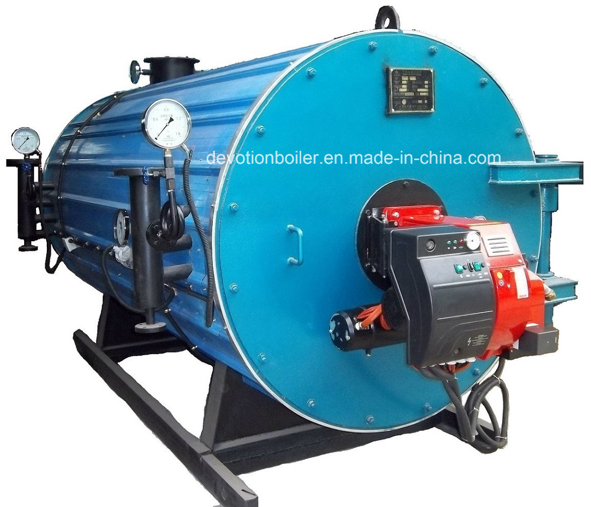 China Fuel Gas, Oil Thermal Oil Boiler with European Burner - China ...