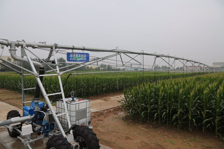 Two Wheels Lateral Move Irrigation System