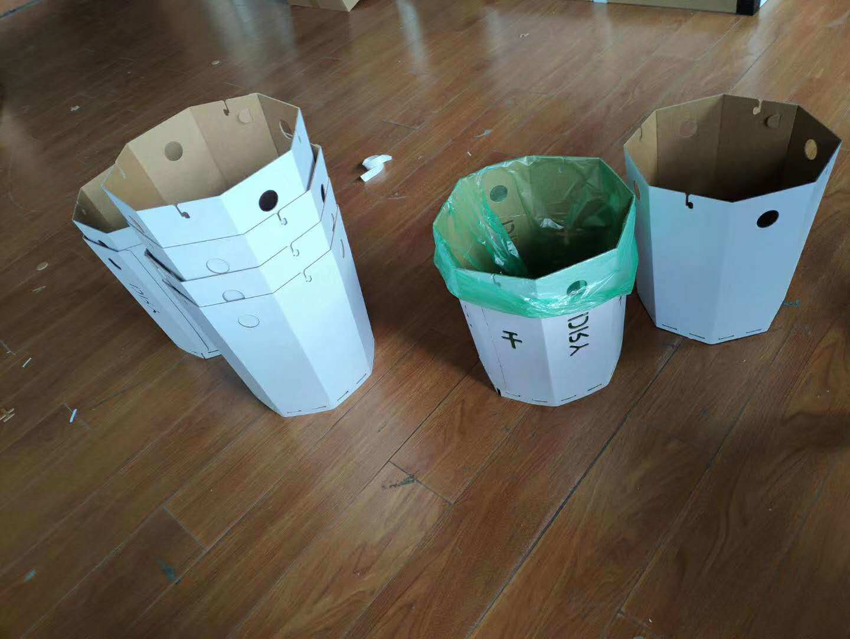 China Cardboard Bedroom Trash Bin Hotel Room Garbage Basket Kitchen Waste Bin Price China Hand Washing Adversement And Automatic Sanitizer Price