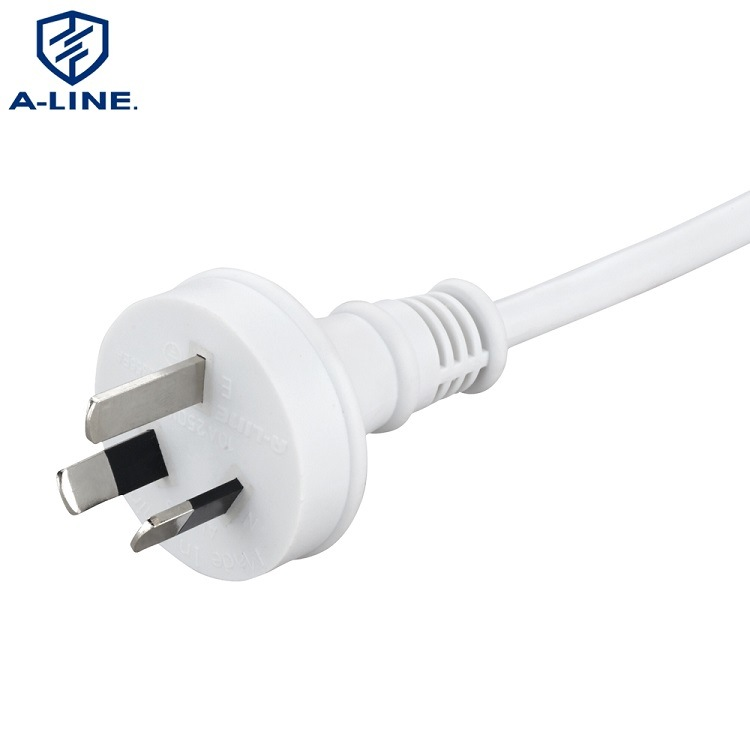 SAA Approved Australian 3 Pins 10A 250V Power Cord Factory pictures & photos