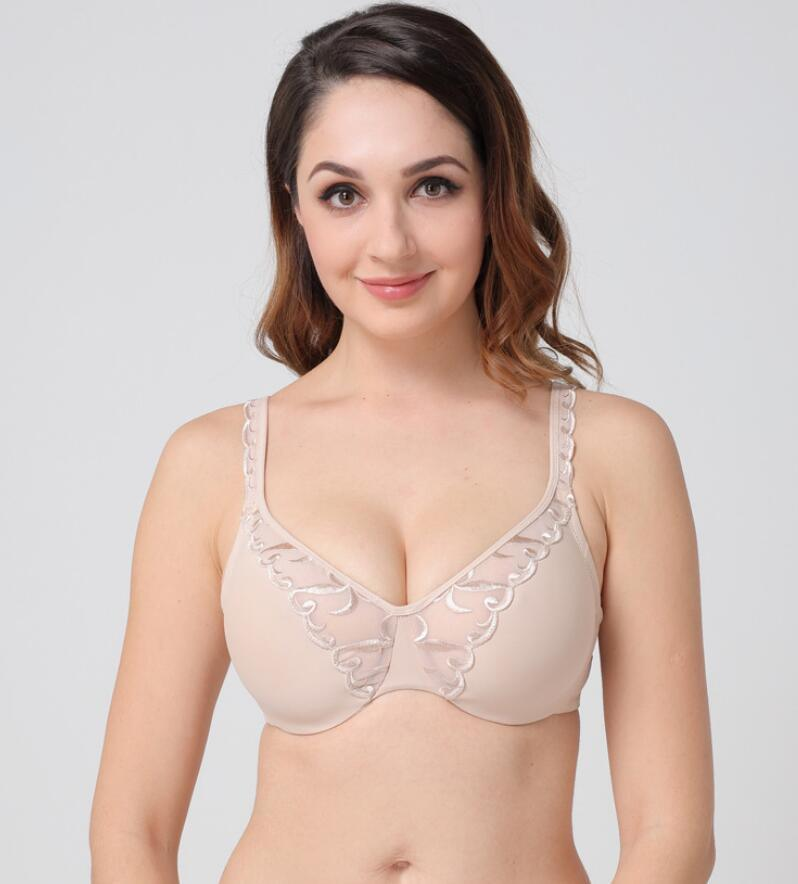 138b2964ba9 China Women Underwire Soft Cup Everyday Big Bra for Plus Size Photos ...