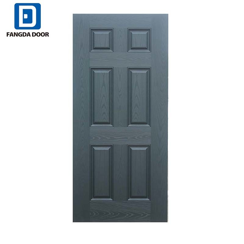 China American Style Wood Edge Steel Entry Metal Security