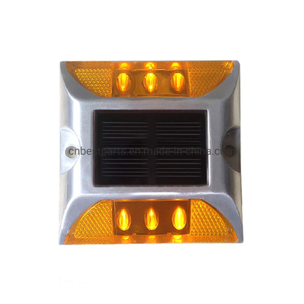 Amber Dock Edge Solar Marker Light