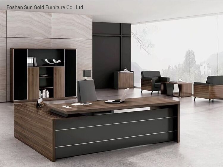 [Hot Item] Modern Contemporary Office Desks Executive Desk Office Furniture