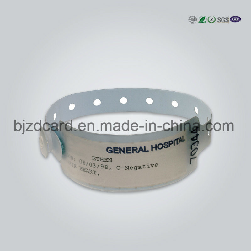 image regarding Hospital Bracelet Printable called [Scorching Solution] Notable Thermal Printable Watertight Health-related Medical center Client Identity Bracelet Wristband