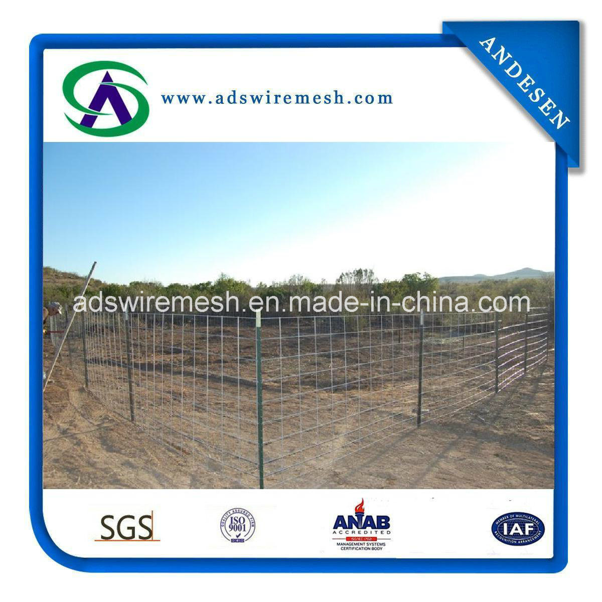 China Golden Supplier Utility Panels/Welded Wire Livestock Panels ...