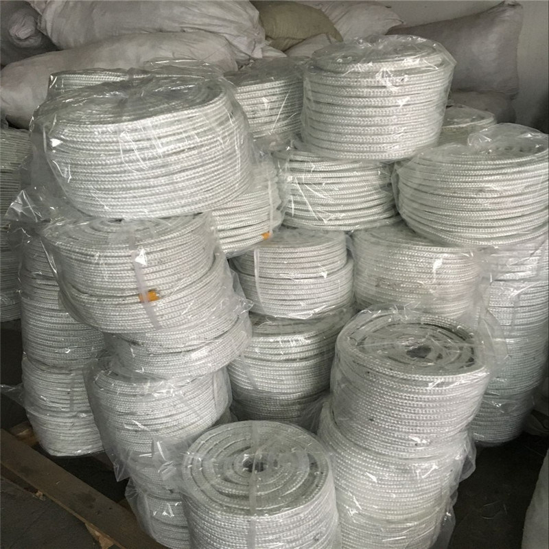 Knitted Sleeving Glass Fiber for Fire Protection pictures & photos